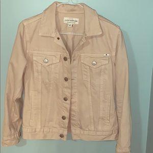 Lucky brand beige denim jacket